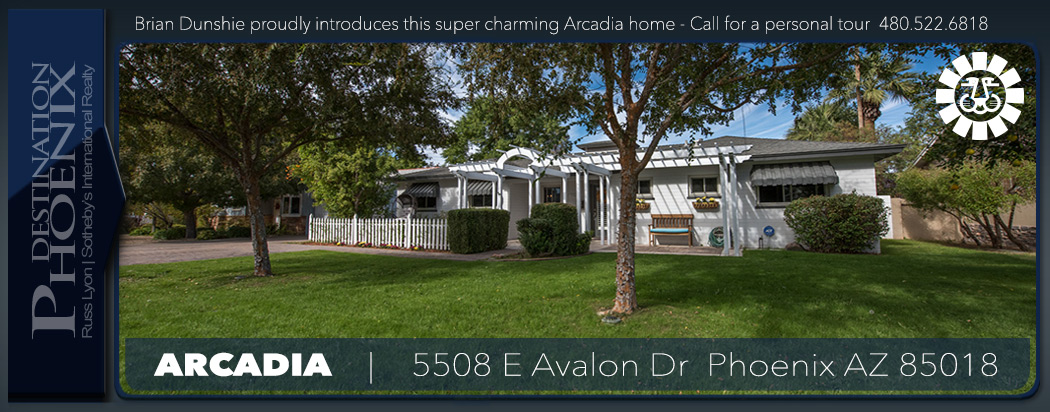 5508 E Avalon Dr Home For Sale Arcadia 85018